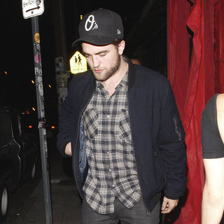 Robert Pattinson With Sarah Roemer in LA Pictures