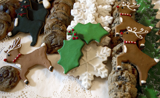 A holiday celebration wouldn't be complete without cookies, and a White House celebration is certainly not complete without Bo.
