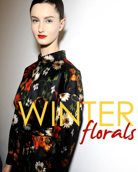Shop Winter Floral Prints — Fall 2011 and Resort 2012 Trends