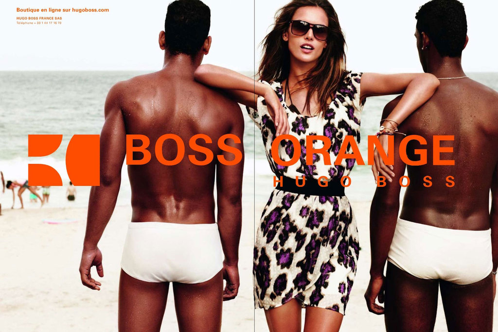 Hugo Boss Orange Spring 2012 Ad Campaign