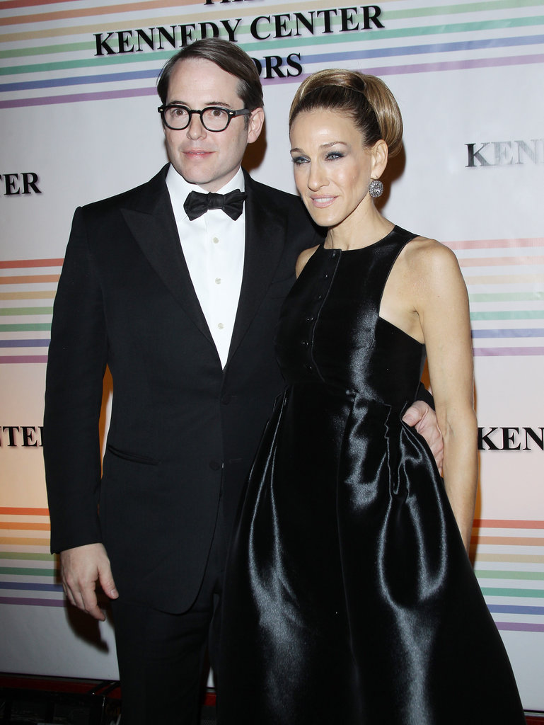 Sarah Jessica Parker and Matthew Broderick were quite the happy couple in DC.