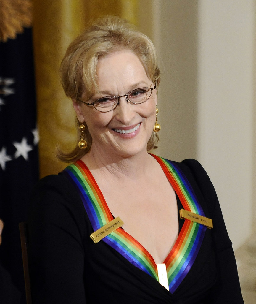 Meryl Streep was honored at the 2011 Kennedy Center Hall of States.