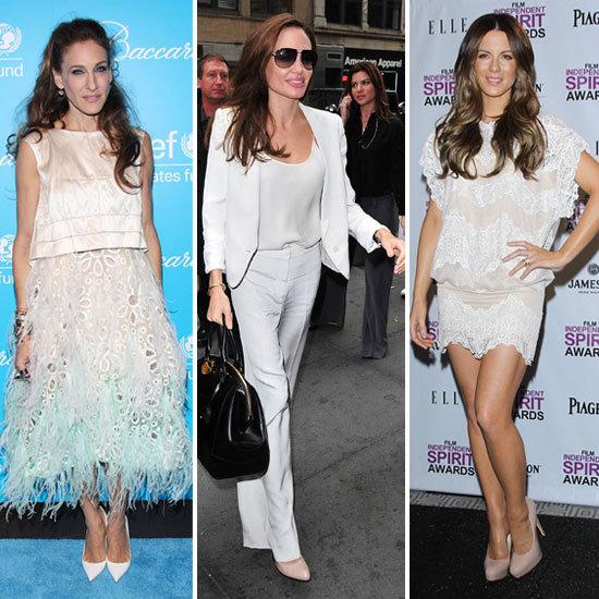 Celebrity Lookbook: Winter White