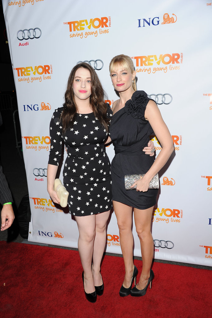Kat Denning and Beth Behrs
