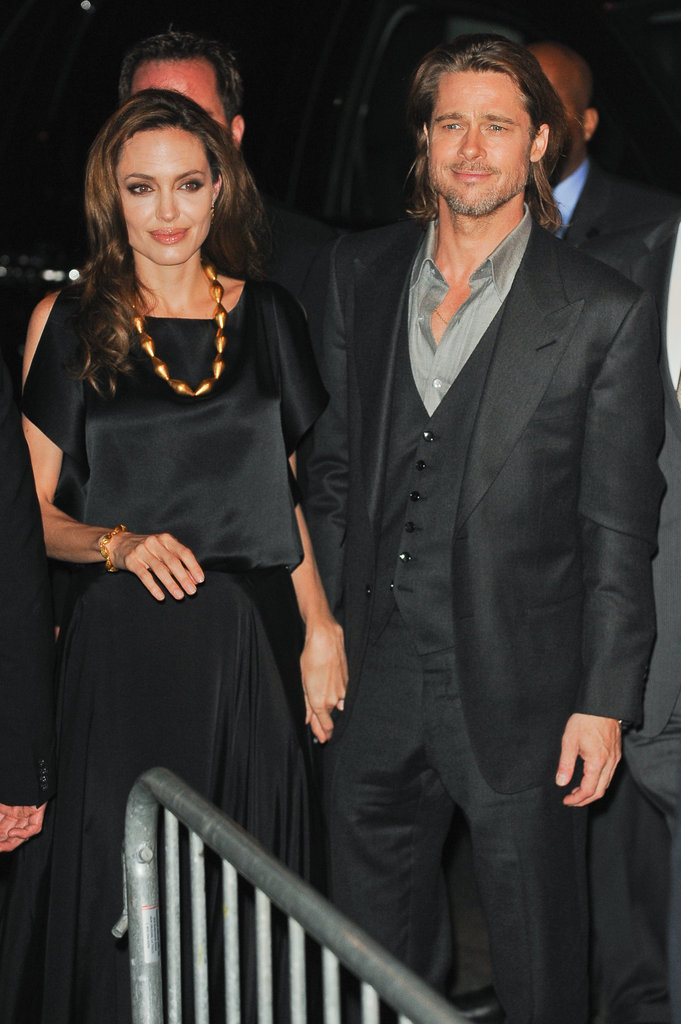 Angelina Jolie and Brad Pitt were together in NYC.