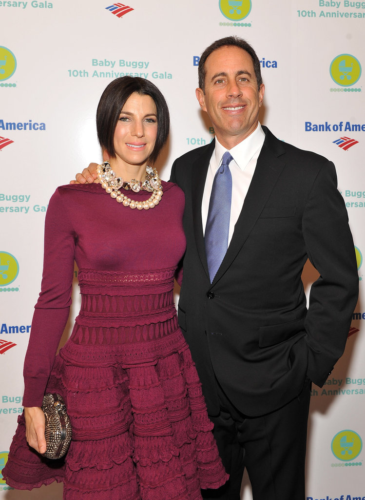 Jessica and Jerry Seinfeld