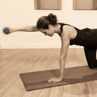 Ab Exercise Without Crunches: Quadruped Video
