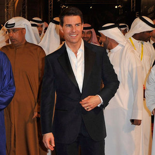 Tom Cruise, Paula Patton, Simon Pegg Pictures at Mission: Impossible Ghost Protocol Dubai Premiere