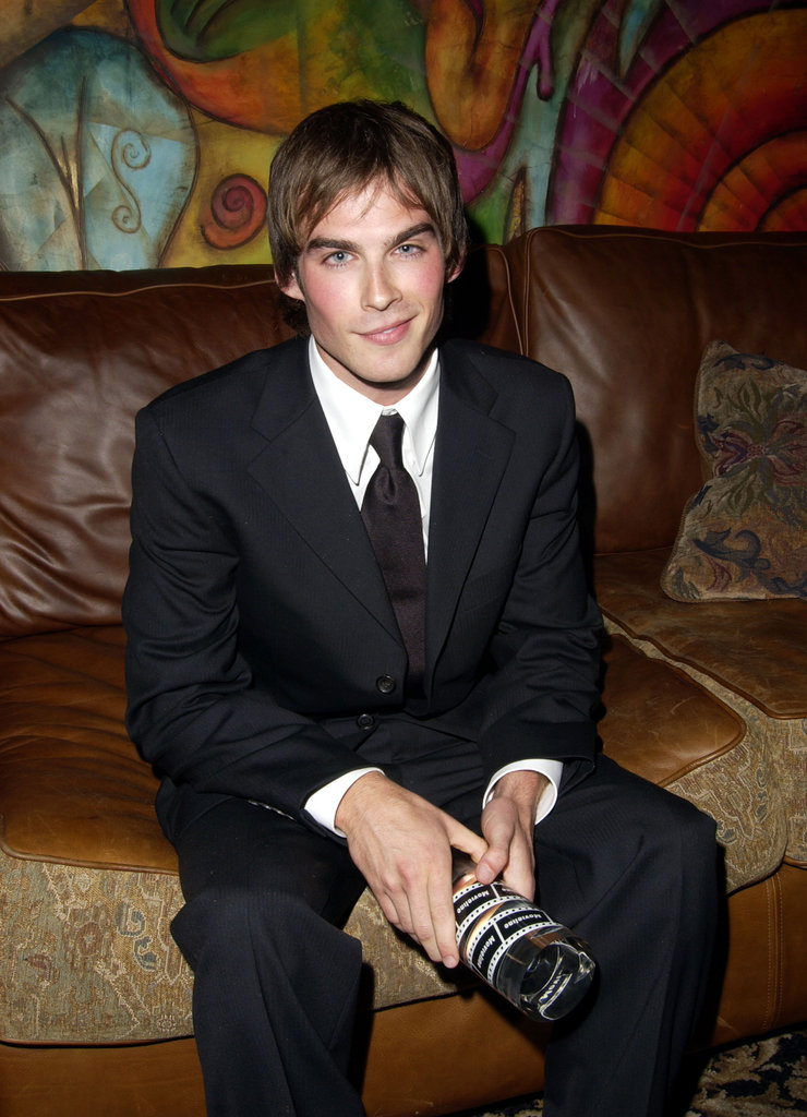Ian Somerhalder  was one of the many young faces recognized at Movieline's fourth annual Young Hollywood Awards celebrated at a May 2002 reception in LA.