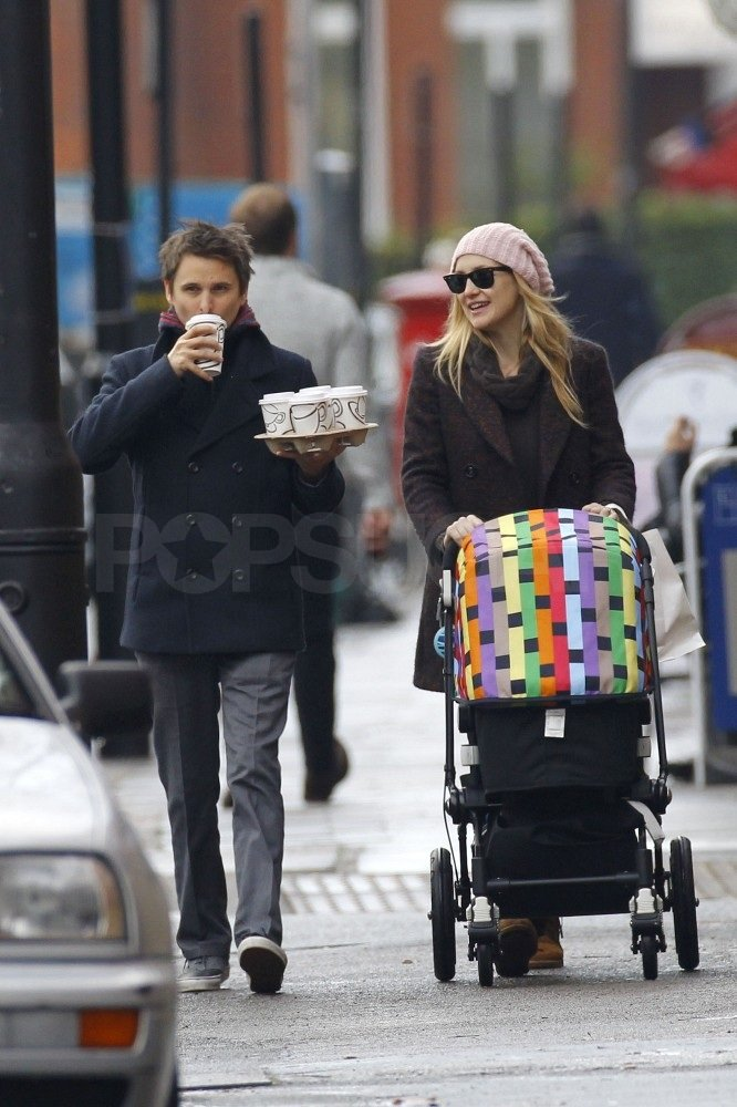 Matthew carried five cups of coffee.