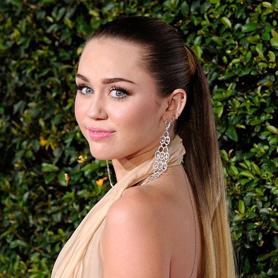 Miley Cyrus's Ombre Ponytail