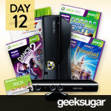 15 Days of Holiday Giveaways, Day 12: Win an XBox 360 Kinect Prize Package!