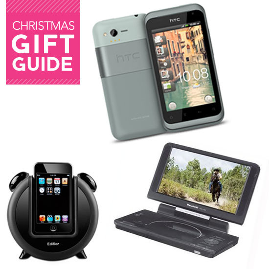 christmas technology gift ideas ipad 2 docking stations portable dvd players more. Black Bedroom Furniture Sets. Home Design Ideas