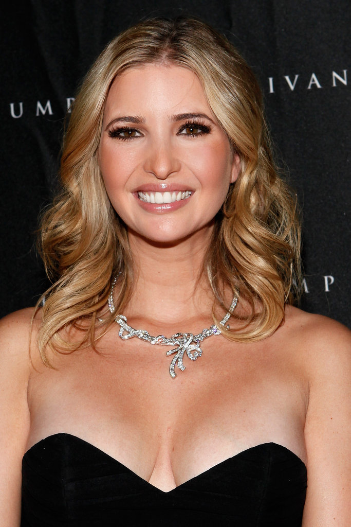 Ivanka Trump smiled at her jewelry launch.
