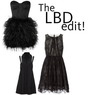 Five of the Best Little Black Dresses We Found Online from Tibi, Dion Lee, Topshop, The Outnet and more!