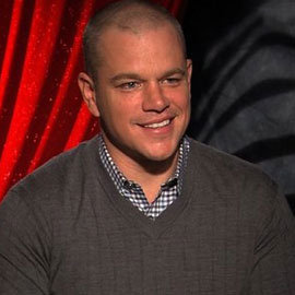 Matt Damon We Bought a Zoo Interview (Video)