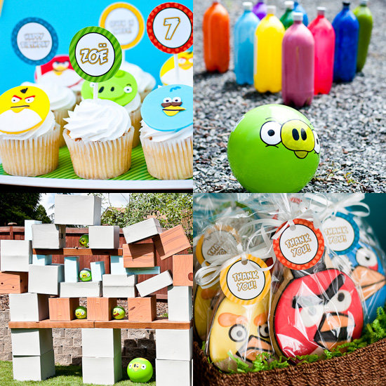 An angry birds birthday party 47 fun themes for your boy for Angry birds party decoration ideas
