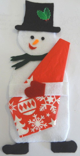 Snowman Serviette Holder