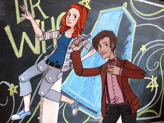 Doctor Who Paper Dolls ($15)