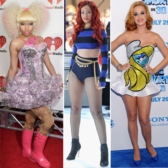 Which Celebrity Had the Most Outrageous Style in 2011? Rihanna, Lady Gaga, Katy Perry or Nicki Minaj?