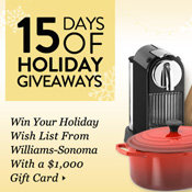 2011 Holiday Giveaway Winner Announcement