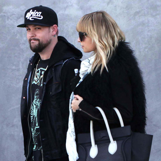 Nicole Richie Joel Madden Hermes Shopping Pictures
