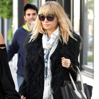 Nicole Richie in Beverly Hills in House of Harlow 1960
