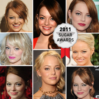 Emma Stone Voted Favourite Face of the Year