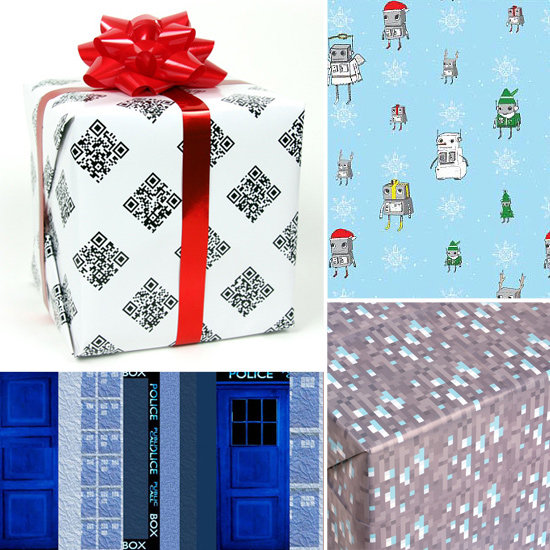 Geeky Wrapping Paper For Holiday 2011