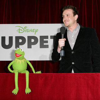 Jason Segel and Kermit the Frog Pictures at Australian Premiere of The Muppets in Sydney