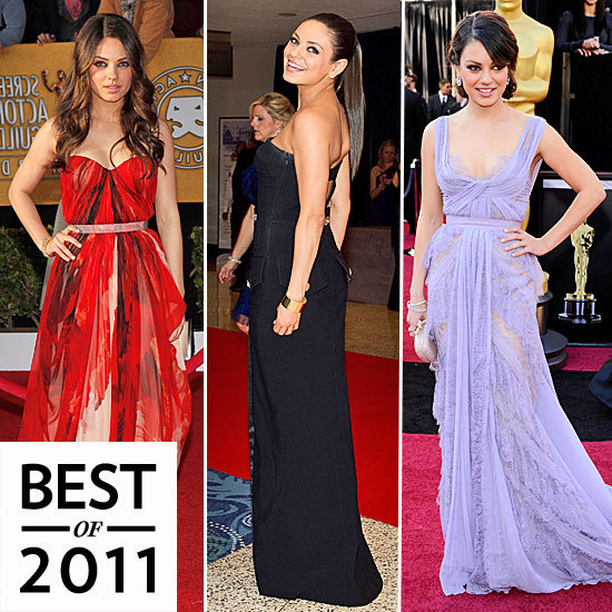 Mila Kunis Red Carpet Style 2011