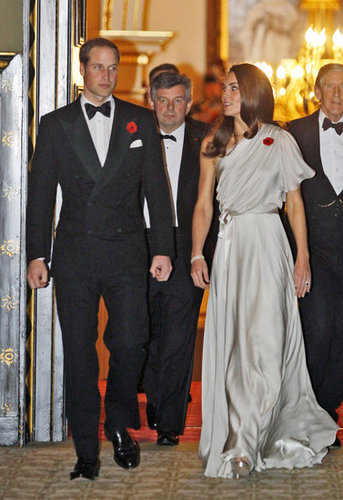 The duke and duchess attended a dinner reception in aid of the National Memorial Arboretum Appeal at St James's Palace in London on Nov. 10, 2011.