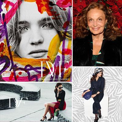 Diane von Furstenberg Ad Campaigns