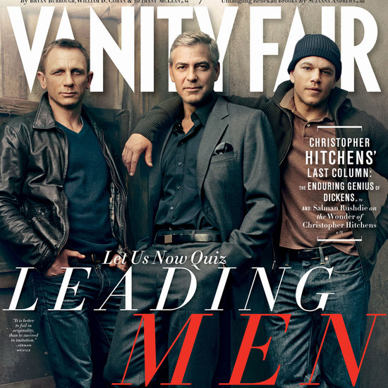 Matt Damon and George Clooney Vanity Fair 2012