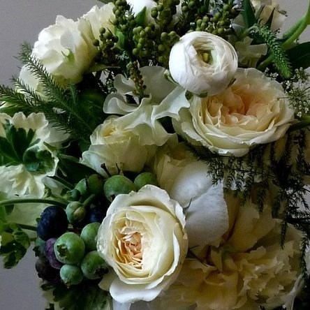Winter White Bouquets