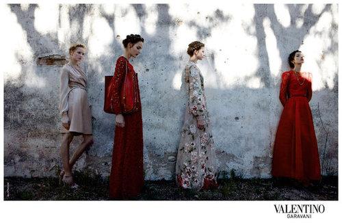 Valentino Spring 2012 Ad Campaign