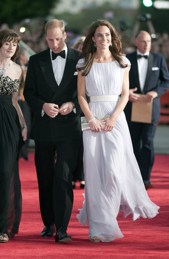 Prince William and Kate Middleton were VIP guests to the July 2011 BAFTA Brits to Watch event in LA.