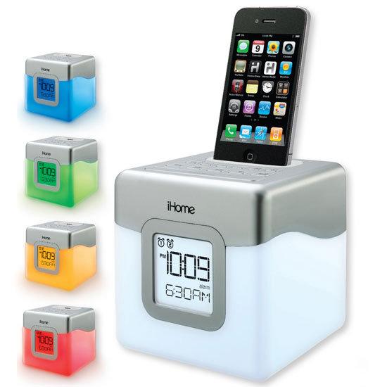iHome iP18 Glowtunes Dual Alarm Clock