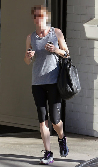 Guess Who's Leaving the Gym With Her Givenchy Bag?