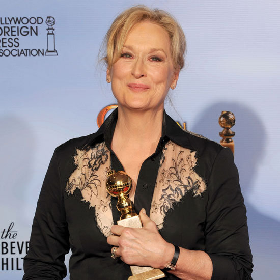 Meryl Streep Golden Globes Press Room Quotes 2012