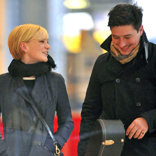 Carey Mulligan With Marcus Mumford Pictures in NYC