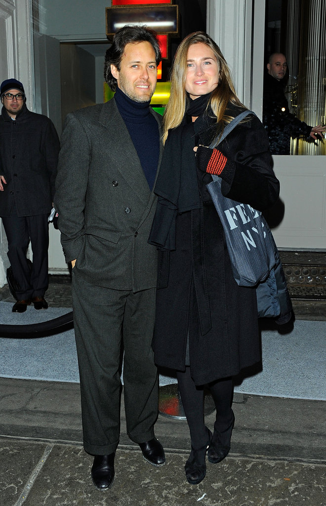 David Lauren and Lauren Bush were back in NYC for a fashion party.