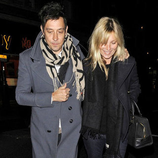Kate Moss and Jamie Hince at Curzon Cinemas London Pictures