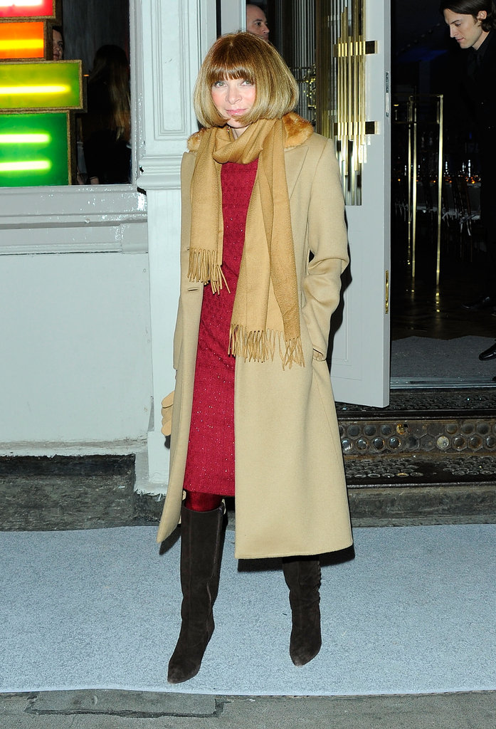 Anna Wintour came out to support Stella McCartney in NYC.