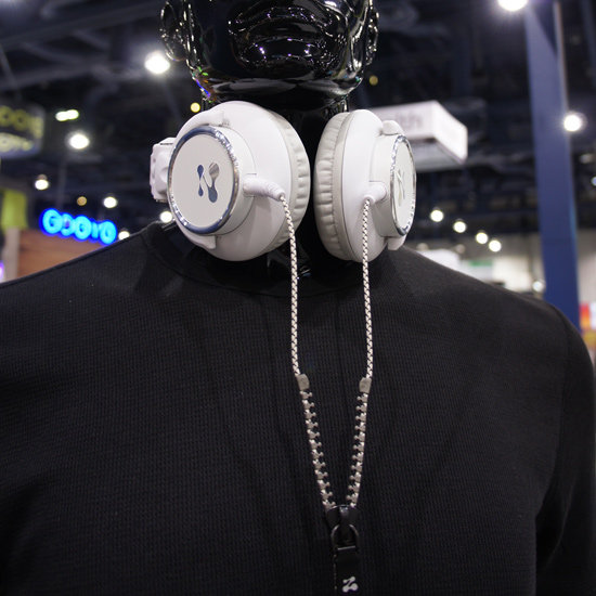 Zipper Headphone Cords From Zipbuds at CES 2012
