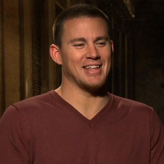 Channing Tatum Interview About Magic Mike Video