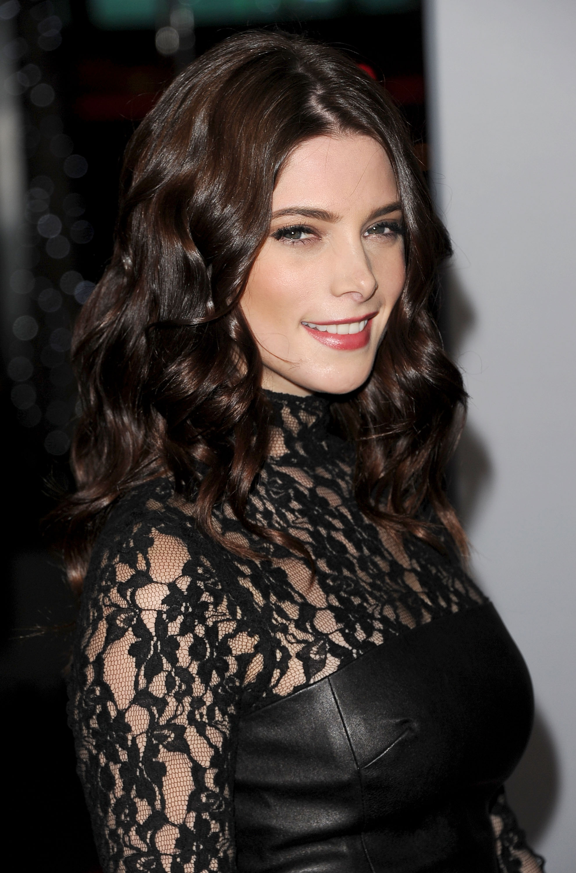 Ashley Greene wore a turtleneck dress in LA.