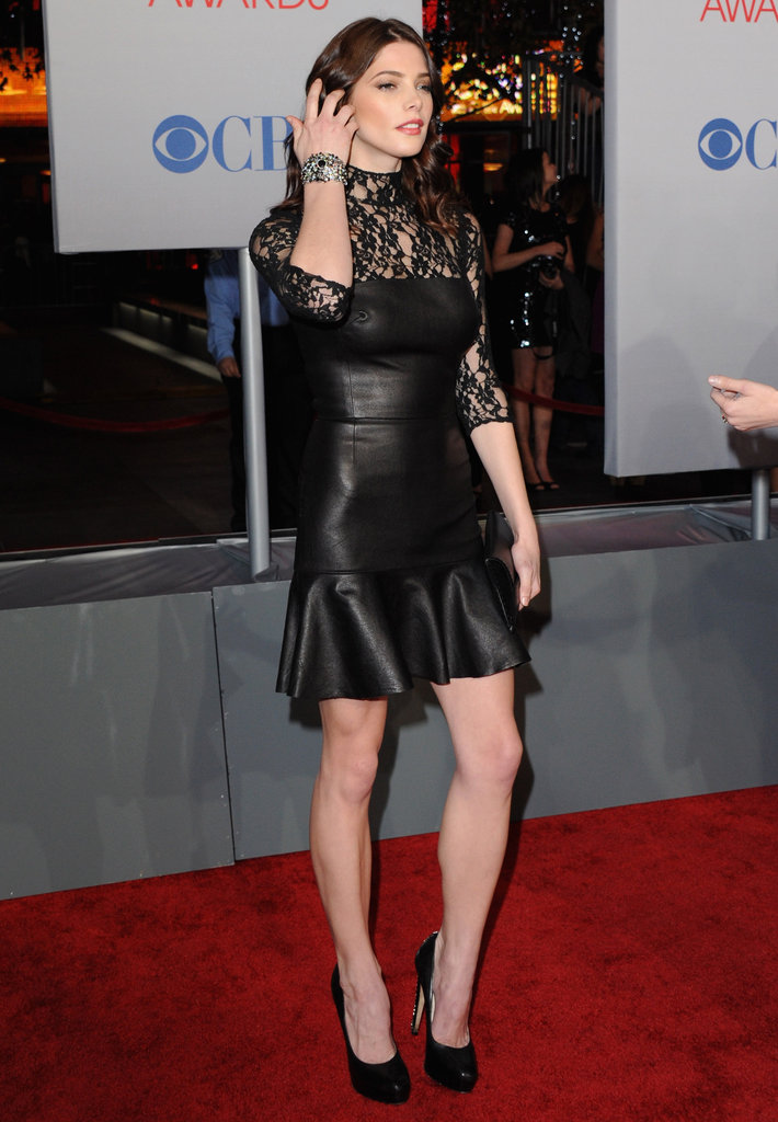 Ashley Greene showed off her killer legs on the red carpet.
