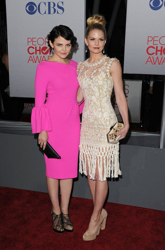 Jennifer Morrison and Ginnifer Goodwin met up on the red carpet.