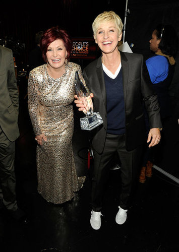 Sharon Osbourne and Ellen DeGeneres